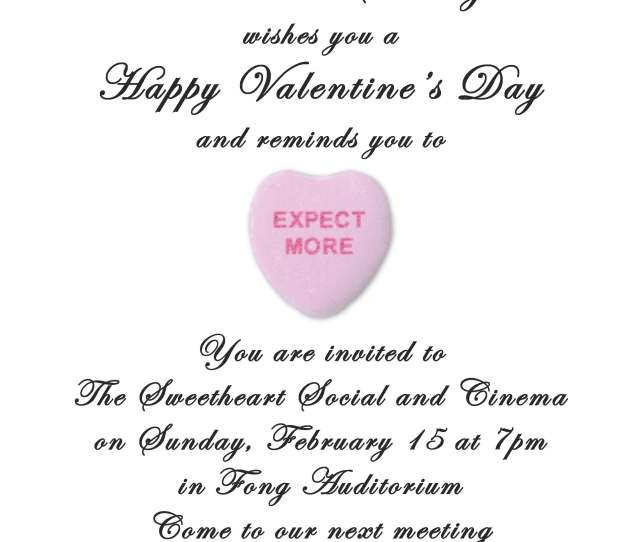Happy Valentines Day Come Celebrate With Us